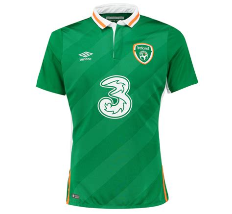 Irlandia Republik Away 2016 2016 2017 ireland home umbro football shirt 75612u kit