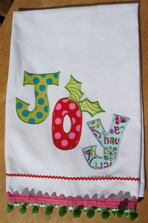 Handmade Tea Towels - handmade tea towel family net