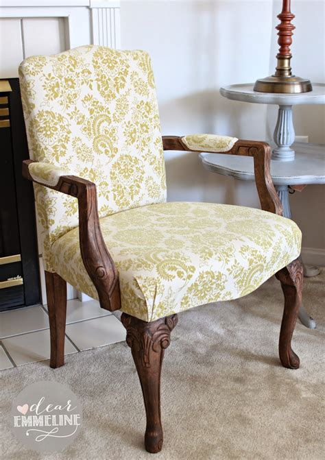 armchair upholstery diy stripped stained upholstered arm chair