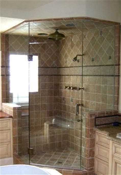 bathroom corner tiles corner showers showers and tile on pinterest