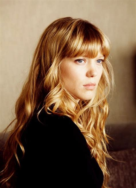 lea seydoux bangs lea seydoux long hair bangs hair makeup pinterest