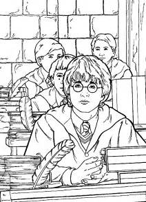 coloring games boys harry potter images