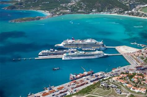 dr a c wathey cruise and cargo facilities sxm loc st