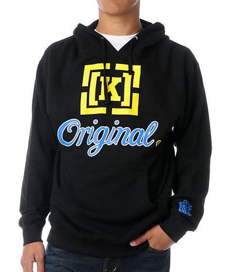 Chion Hoodie Original Yellow kr3w original 3 black blue yellow pullover hoodie at zumiez pdp