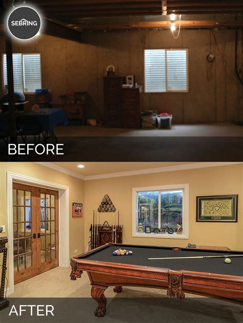 basement remodeling ideas before and brian danica s basement before after pictures home