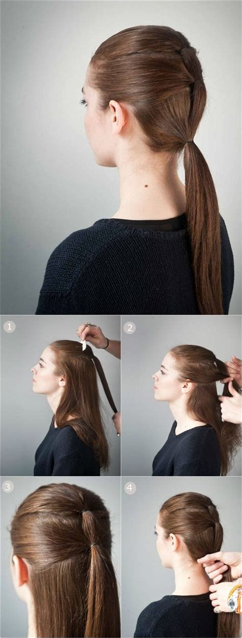 hairstyles for school long straight hair 59 easy ponytail hairstyles for school ideas hairstyle