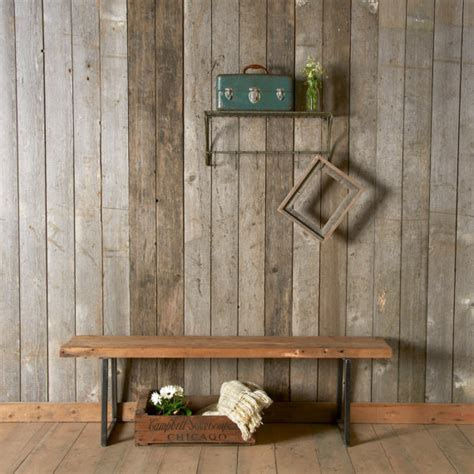 reclaimed wood bench etsy modern reclaimed wood bench with square steel legs1 65