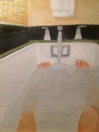 george w bush bathtub painting art professor critiques the artwork of presidents