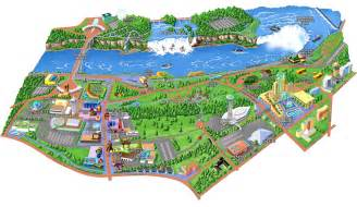 niagara falls canada attractions map