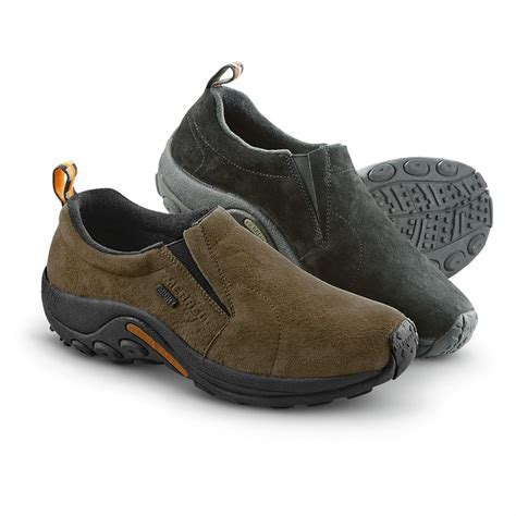 waterproof shoes merrell s jungle moc waterproof slip on shoes 425150