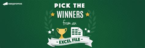How To Pick A Winner For A Giveaway - announcing the easypromos pick a winner app engage your online and offline