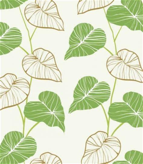 daun vector wallpaper segar tangan dicat daun vector latar belakang vector latar