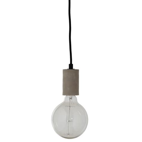luminaire suspension cuisine 5426 frandsen 148414305001 bristol suspension oule beton