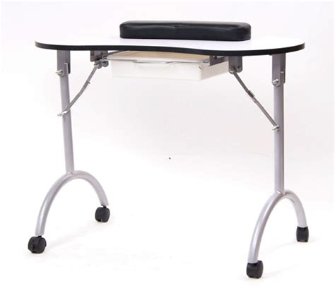 Nail Tech Table by Manicure Table Portable Nail Technician Workstation New Ebay