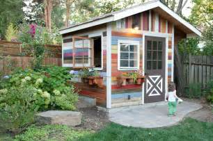 Garden Sheds by Garden Shed 187 In Color Photography