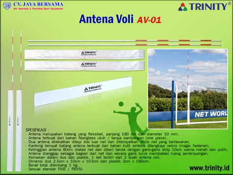 Antena Net Volly Volly Distributor Olahraga