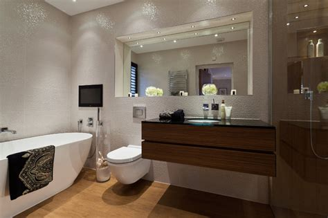 inset bathroom mirror c p hart case study bayview house contemporary