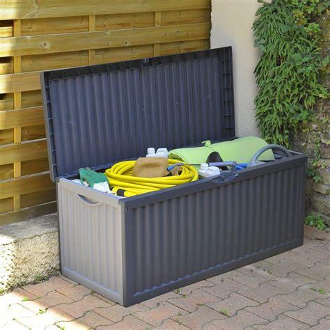 gros coussin exterieur 350 coffre de rangement jardin 350 litres shopix fr