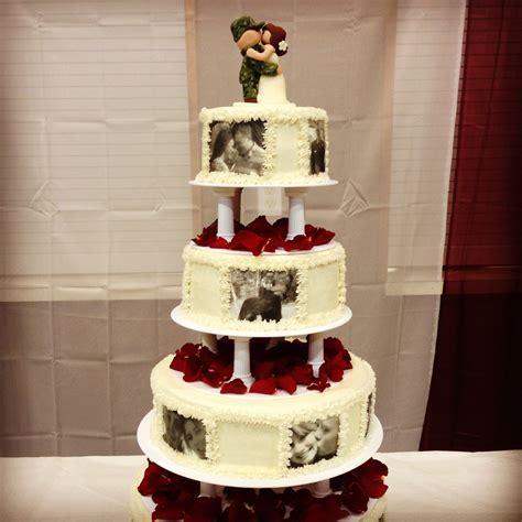 army wedding cakes   Military Tiered Cake ? Round Wedding
