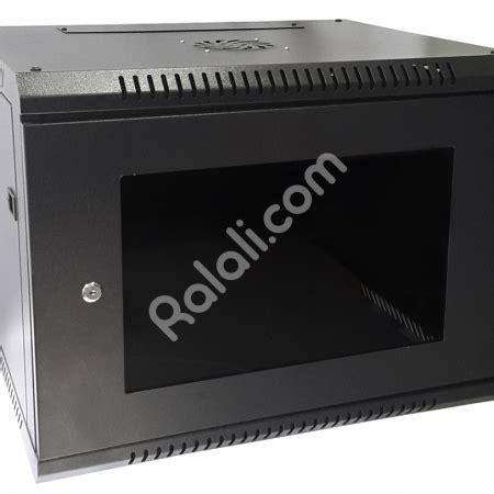 jual wallmount rack 8u depth 500mm single door ralali