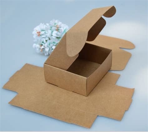 How To Fold Paper Boxes - aliexpress buy small white gift cardboard boxes