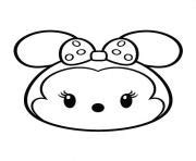 minnie mouse tsum tsum coloring page tsum tsum disney colouring pages coloring pages printable