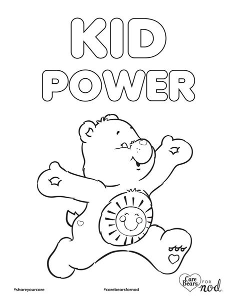 256 Best Color Images On Care Bears Coloring
