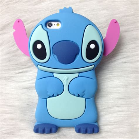Softcase 3d Stitch Iphone 6 aliexpress buy 3d rubber stitch soft silicone for iphone 6 6s 6plus 6s