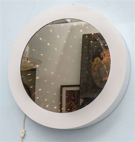 infinity tunnel mirror cool mod 1970 s vintage infinity tunnel mirror l at 1stdibs