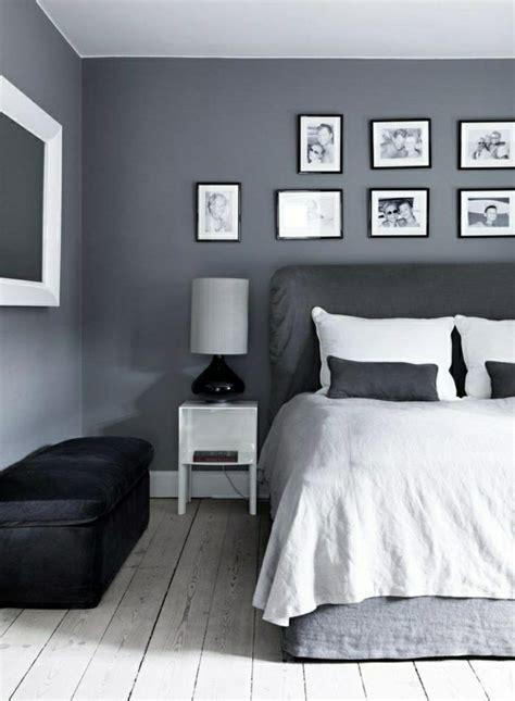 schlafzimmer ideen wandgestaltung grau wandfarbe grau f 252 r eine harmonische und moderne