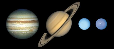 saturn and jupiter the inner and outer planets in our solar system universe