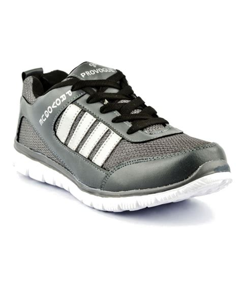 provogue sports shoes provogue sporty grey sports shoes price in india buy