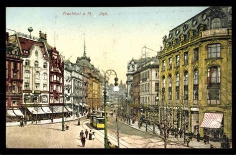 zeil frankfurt geschäfte ansichtskarte postkarte frankfurt am main zeil akpool de
