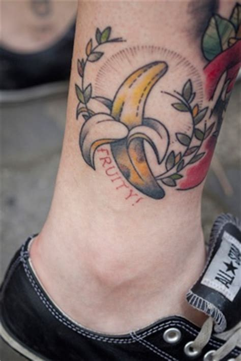 banana tattoo 25 best ideas about fruit on random