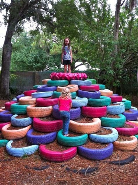backyard ideas kids totally awesome do it yourself backyard ideas for this