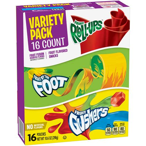 fruit by the foot betty crocker fruit flavored snacks fruit roll ups fruit