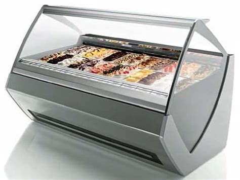 Freezer Gelato ventura xp ii tecnica gelato showcase display freezer gelato machine t6 5 liter pan