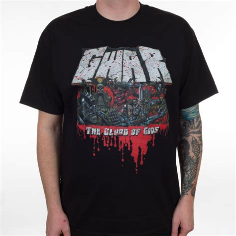 Blood Of Gods gwar quot the blood of gods quot t shirt metal blade records