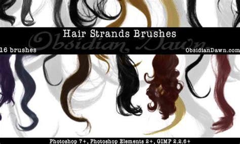 short wavy hair photoshop brushes a collection of free photoshop hair brushes naldz graphics