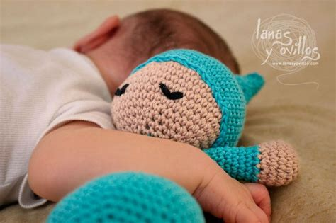 sleeping pattern in spanish mu 209 eco dormil 211 n lanas y ovillos crochet pinterest