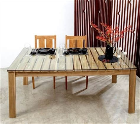 Dining Table Made From Pallets 58 Diy Pallet Dining Tables Diy To Make