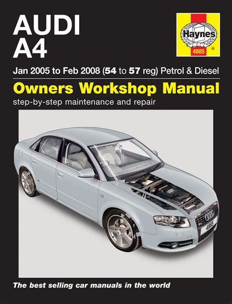 Reparationshandbok Audi A4 Rep En4885 Mekanika Se