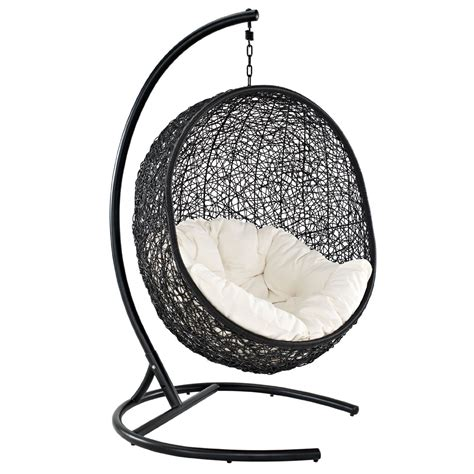 swingasan hanging chair furniture contemporary dark hanging swingasan chair