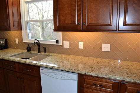 Kitchen Subway Tile Backsplash Designs Stylish Subway Tile Kitchen Backsplash Great Home Decor