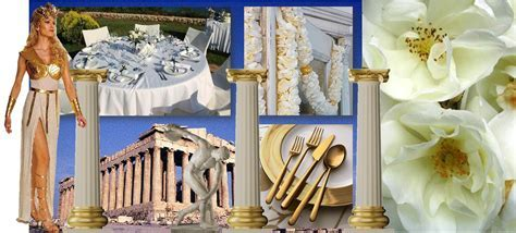 Greek Goddess Wedding Theme   Personally I fancy a bit of
