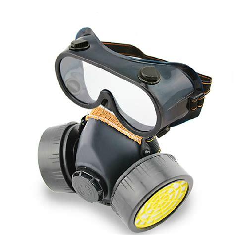 Baoweikang Masker Gas Respirator ck tech dual valves gas mask respirator protection mask pesticide formaldehyde gas gas