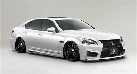 widebody lexus ls aimgain aero catalog for lexus ls models clublexus