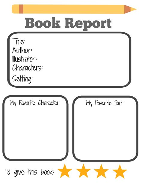 End Of The Spear Book Report by Starting A Summer Book Club For And Free Printable Book Report