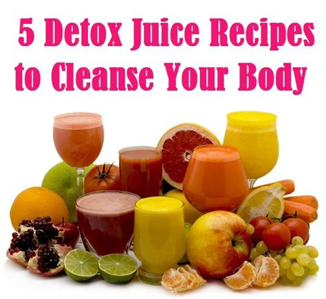 What To Read During Detox by 5 Detox Juice Recipes To Cleanse Your Read More