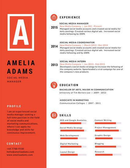 Design Resumes by R 233 Sum 233 Templates Canva